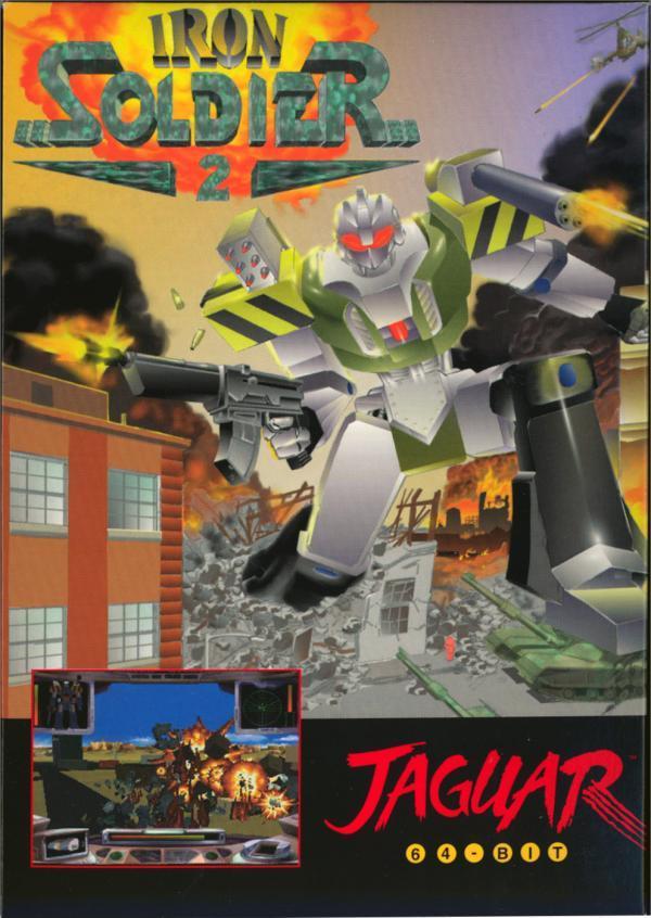 Iron Soldier II Jaguar CD