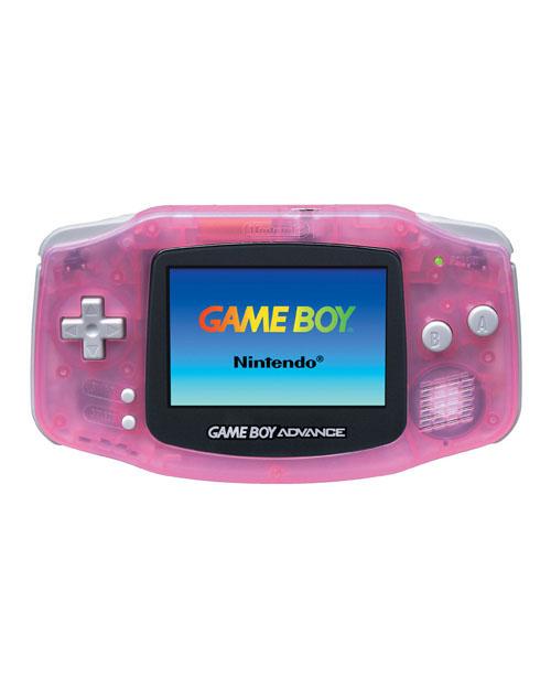 Nintendo Game Boy Advance Fuchsia/Pink