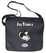 Courier^3 Inu Yasha Kagome Black Courier Bag