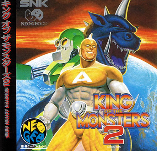 King Of The Monsters 2 Neo Geo CD