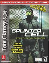 Splinter Cell Prima's Official Strategy Guide