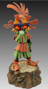 Legend of Zelda: Skull Kid Statue