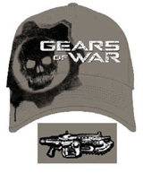 Gears of War: Cog Skull Baseball Cap