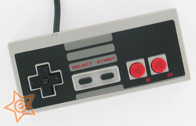NES Replacement Controller with 8' Cord