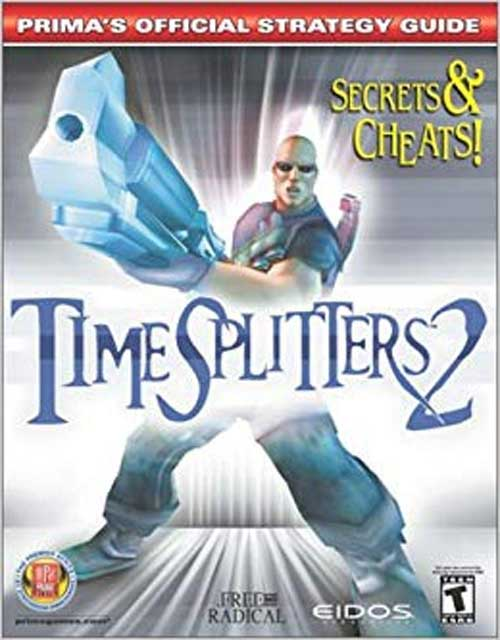 TimeSplitters 2 Official Strategy Guide Book