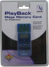 PlayStation PlayBack 24X Memory Card