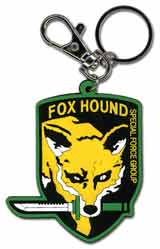 Metal Gear Solid Foxhound Emblem Keychain