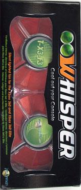 Xbox 360 Whisper Fan Red
