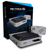 RetroN 5 Gaming Console Gray