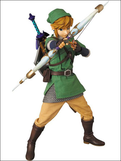 Zelda Skyward Sword Link 12