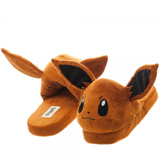 Pokemon Eevee Unisex Brown 3D Plush Slippers Medium