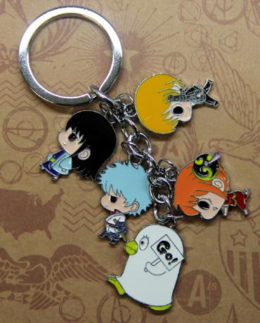 Gintama Characters Keychain