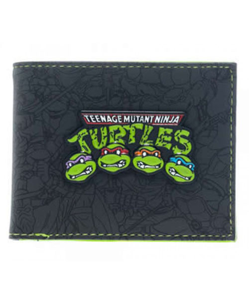 Teenage Mutant Ninja Turtles Group Bi-Fold Wallet