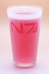 Arts & Crafts: Mass Effect Normandy Logo Custom-made 16oz Glass