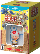 Captain Toad: Treasure Tracker & Toad amiibo Bundle