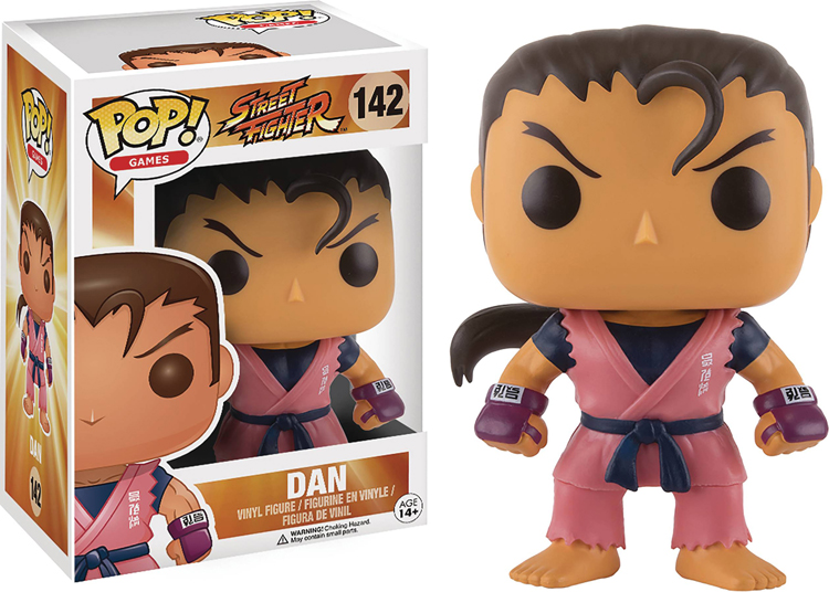 Pop Games Street Fighter Dan Vinyl Figure