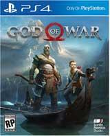 PS4 God of War Boxart