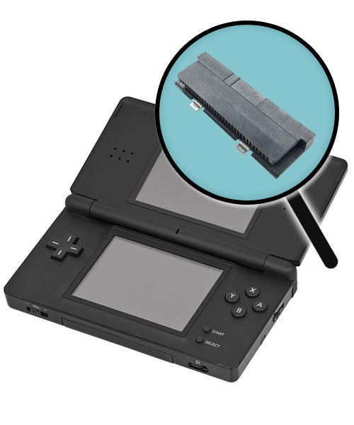 Nintendo DS Lite Repairs: Game Boy Advance Cartridge Slot Replacement Service