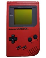 Nintendo Game Boy System Radiant Red - Refurbished