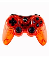 PlayStation 3 Wireless Controller Clear Red by TTX