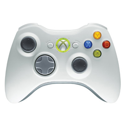 Xbox 360 Wireless Controller White Microsoft
