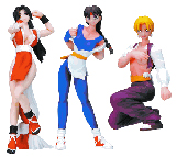 King of Fighters Girls Series 2 Mini Figures (Set of 3)
