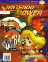 Nintendo Power Magazine Volume 88 Super Mario 64