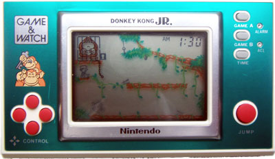 Game & Watch New Wide Screen Series: Donkey Kong Jr