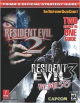 Resident Evil 2 Resident Evil 3 Nemesis Official Strategy Guide