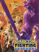 Capcom Fighting Tribute Hard Cover Artbook