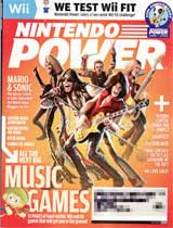 Nintendo Power Volume 229 Music Games