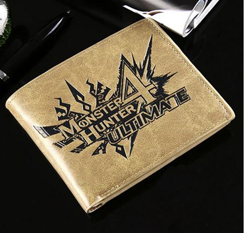 Monster Hunter 4 Ultimate Logo Wallet