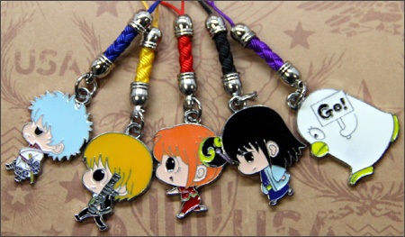 Gintama Character Phone Charms