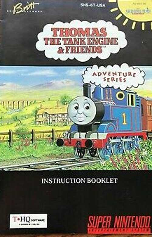 Thomas the Tank Engine & Friends (Instruction Manual)