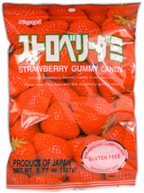 Kasugai Gummy Candy Strawberry 3.77oz