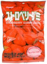 Kasugai Gummy Candy Strawberry 3.77oz