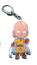 One Punch Man Saitama Metal Keychain