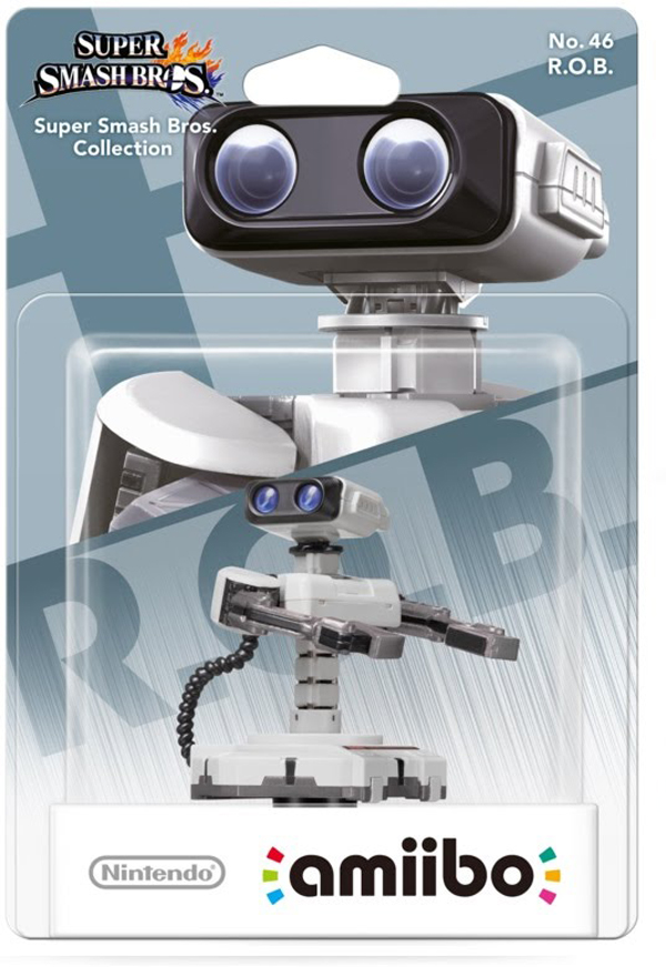 amiibo R.O.B. Super Smash Bros. Series
