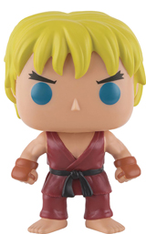 Pop Games Street Fighter Ken Vinyl Figure