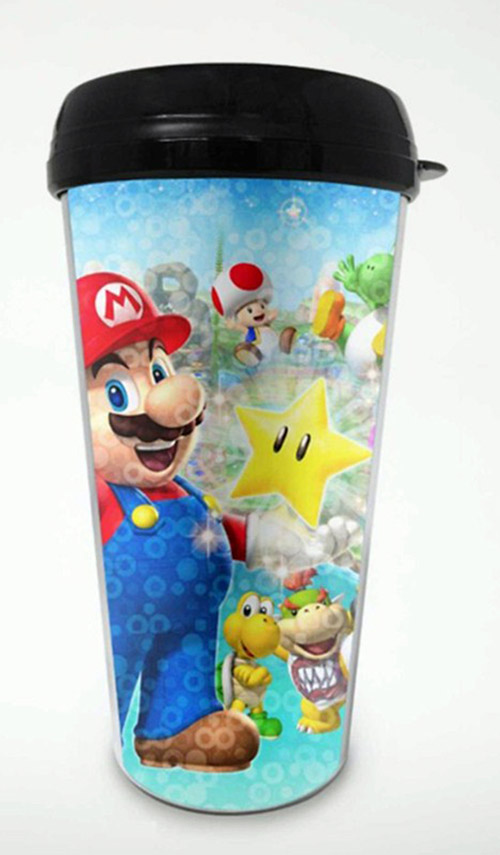 Super Mario Mario Party 16oz Travel Mug