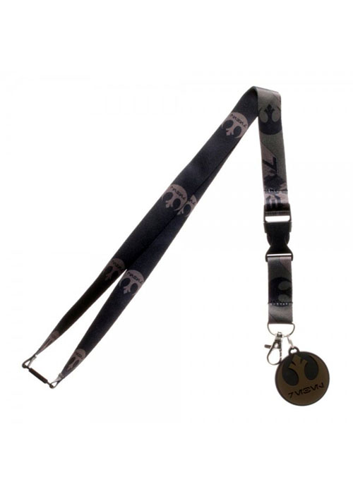 Star Wars Rogue One Rebel Lanyard with Charm