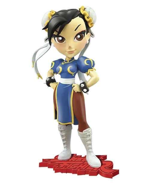 Street Fighter Chun-Li Knockouts 7 Inch Vinyl Figure