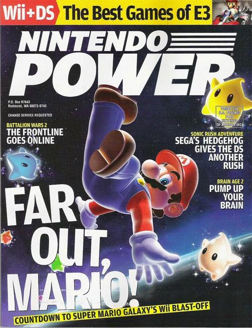 Nintendo Power Volume 220 Super Mario Galaxy