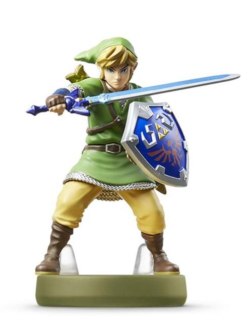 amiibo Link Zelda Skyward Sword