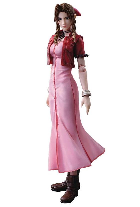 Final Fantasy VII Crisis Core: Aerith Play Arts Kai Action Figure