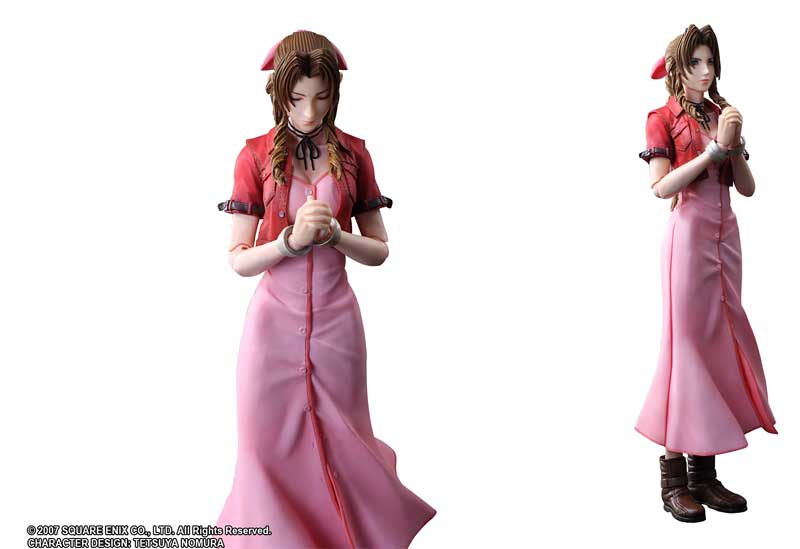 FF7 Crisis Core Aerith Play Arts additional poses