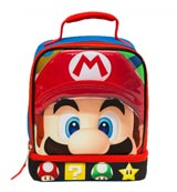 Super Mario Dual Compartment Insulated Lunchbox