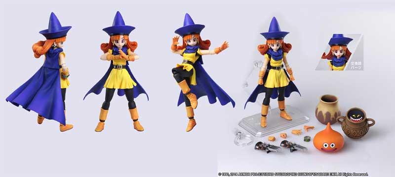 Dragon Quest 4 Bring Arts Alena poses and accessories