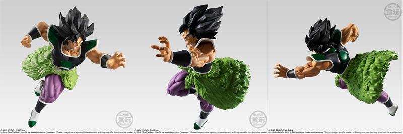 Dragon Ball Styling Super Saiyan Broly Rage Mode Figure additional angles