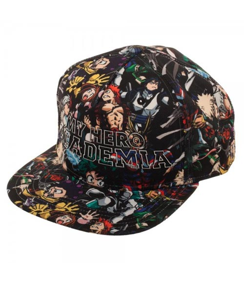 My Hero Academia Class 1A Sublimated Snapback Hat